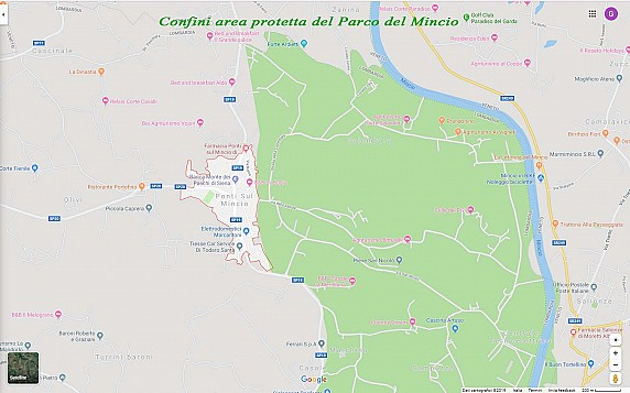 mappa parco