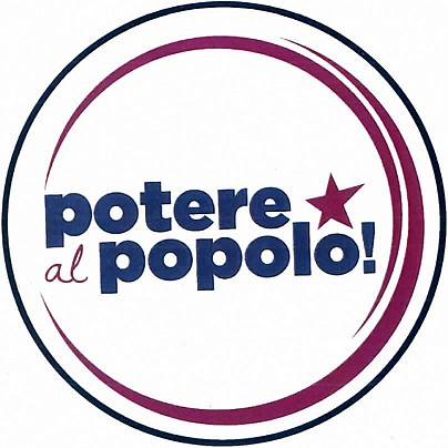 Logo lista: Potere al Popolo