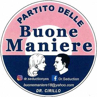 Logo lista: Partito Buone Maniere