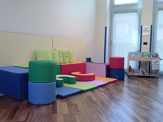 Sala prima infanzia 1° piano