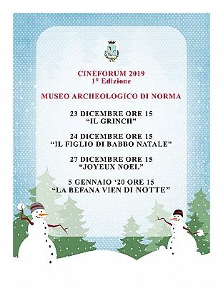 cineforum 1° edizione