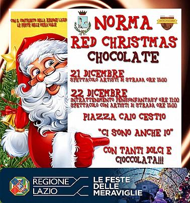 Red Christmas Chocolate