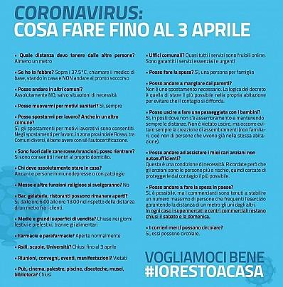 covid-19 cosa #iorestoacasa