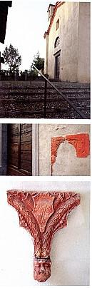dettaglio facciata Chiesa S. Maria