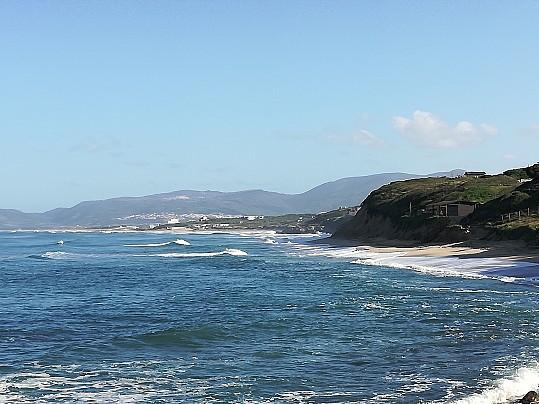 Spiaggia LA Ciaccia - mareggiata