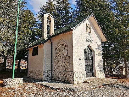 chiesetta degli alpini celano