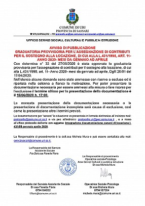 AVVISO GRADUATORIA PROVVISORIA l431-98 genn apr 2020_pages-to-jpg-0001