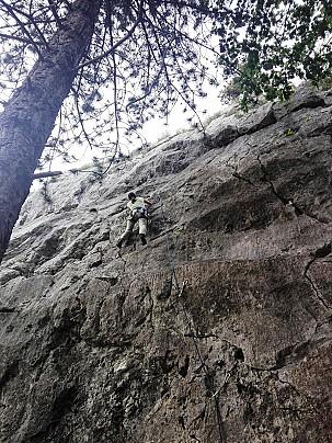 parete rocciosa celano