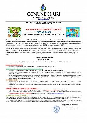 Avviso apertura iscrizione centro estivo 2020 0 3 ANNI scadenza 13.07.2020_pages-to-jpg-0001