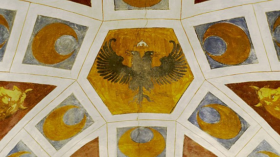 Simbolo Piccolomini 13 - Chiesa di Santa Maria in Valleverde