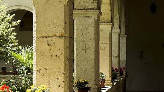 Simbolo Piccolomini 6 - Chiostro di Santa Maria Valleverde