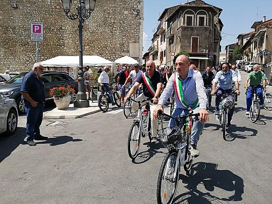 inaugurazione bici celano