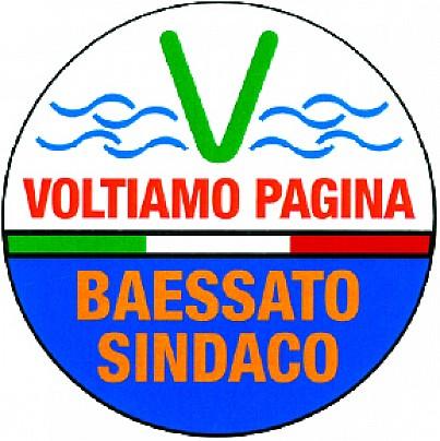 Logo lista: Voltiamo Pagina - Baessato Sindaco