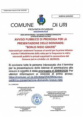 AVVISO PROROGA BONUS NIDO GRATIS firmato_page-0001