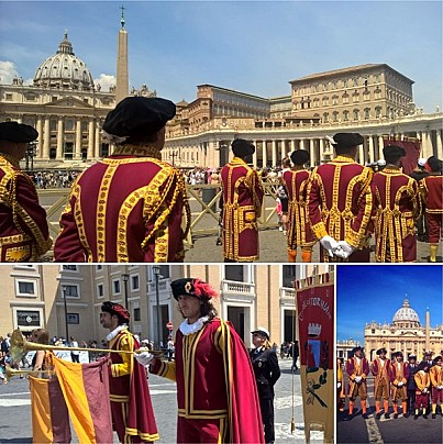 I Fedeli di Vitorchiano a San Pietro