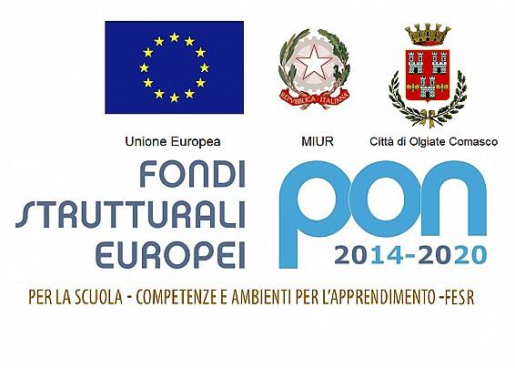 """Fondi Strutturali Europei – Programma Operativo Nazionale """"Per la scuola, competenze e ambienti per l'apprendimento"""" 2014-2020 - PON"""