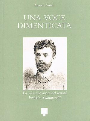 16 copertina Tenore Gambarelli Una voce dimenticata