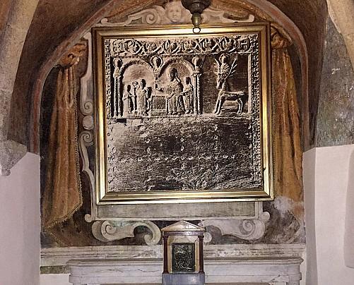 Bassorilievo del XII secolo