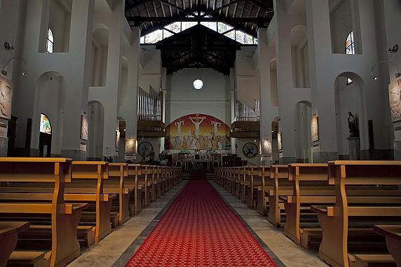 Palau interno chiesa nostra signora