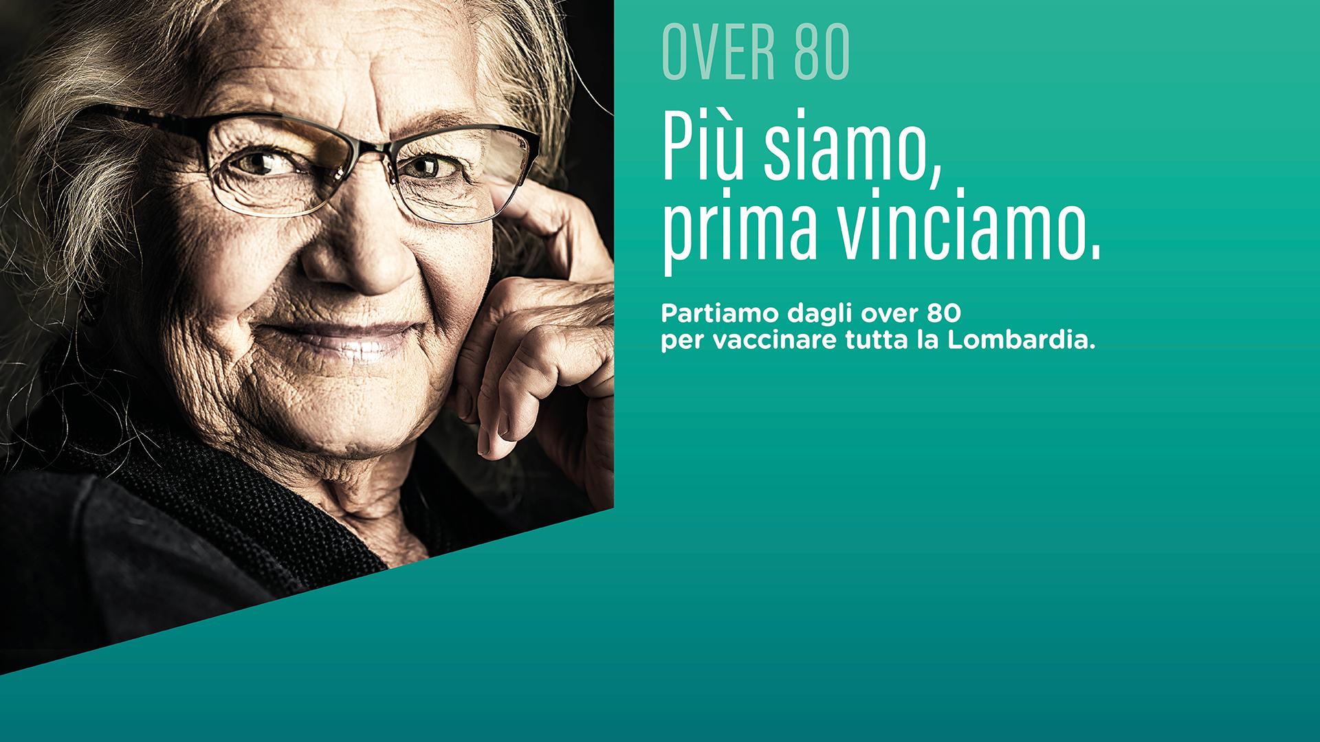 AVVIO CAMPAGNA VACCINALE ANTI COVID-19 PER CITTADINI OVER 80