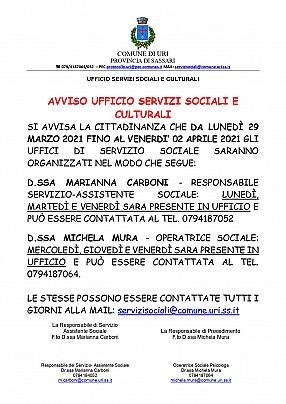 26.03.21 AVVISO ORGANIZZAZIONE UFFICI DI SERVIZIO SOCIALE_pages-to-jpg-0001