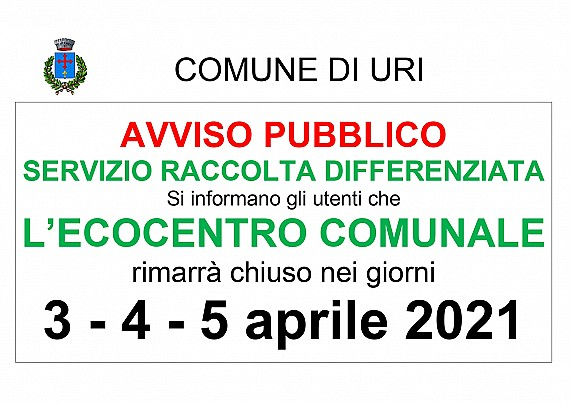 Avviso Chiusura ecocentro_page-0001