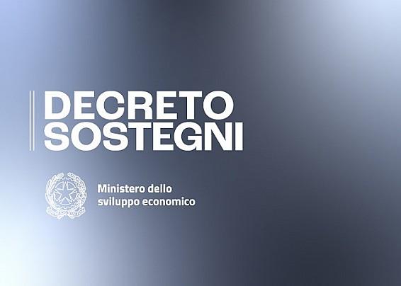 Decreto Legge Sostegni per le Attività produttive
