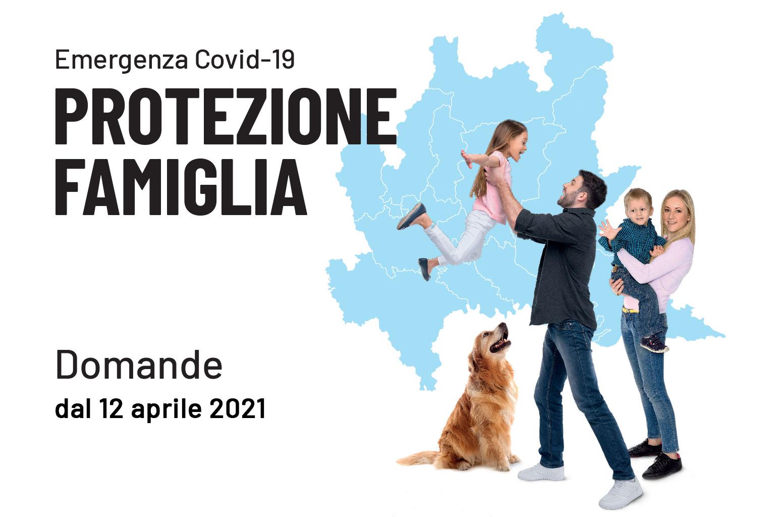 REGIONE LOMBARDIA : Emergenza Covid-19 CONTRIBUTO PROTEZIONE FAMIGLIA
