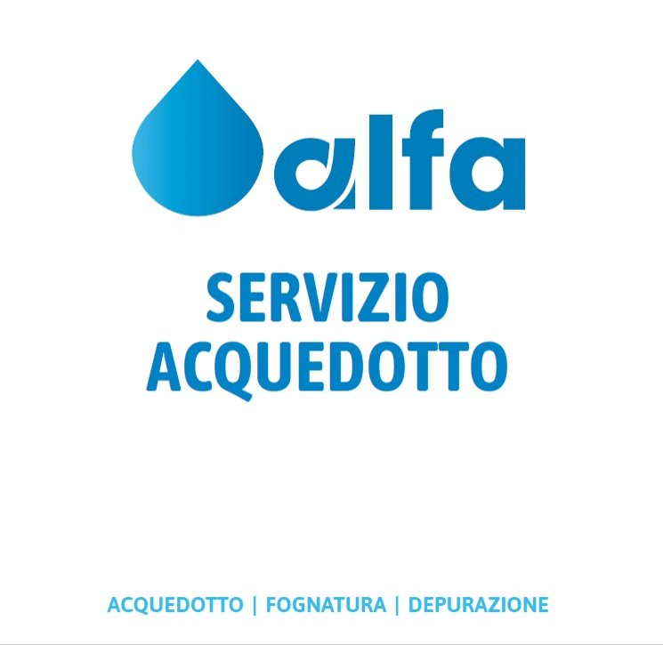 AVVISO IMPORTANTE: Contatti del gestore dell'acquedotto Alfa s.r.l.