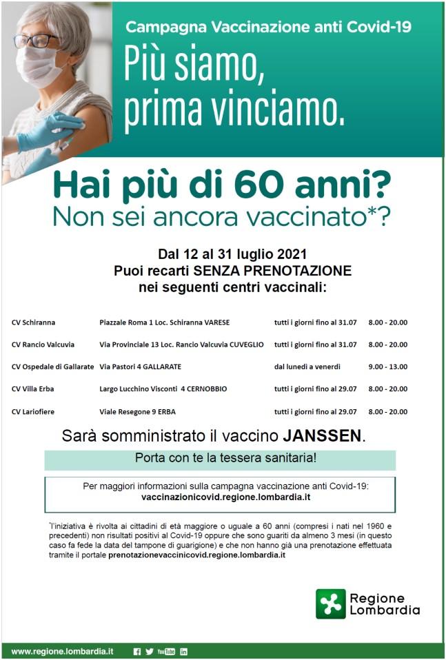 VACCINO OVER 60