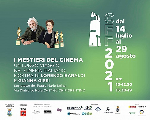 Locandina mostra ''I mestieri del cinema. Un lungo viaggio nel cinema italiano''
