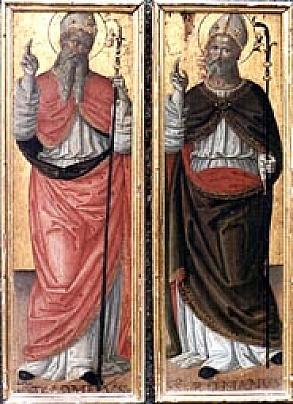 santi tolomeo e romano