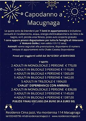 Capodanno a Macugnaga