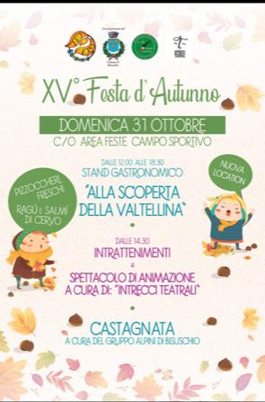 PRO LOCO presenta: XV^ FESTA D'AUTUNNO