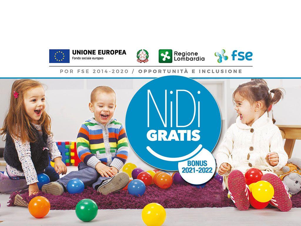Nidi gratis 2021/2022 - ADESIONE FAMIGLIE