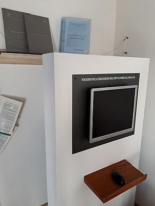 Museo Civico Archeologico_postazione consultazione testi