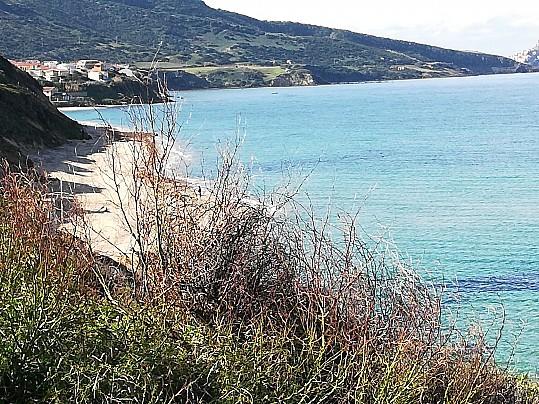 Spiaggia di Maragnani.